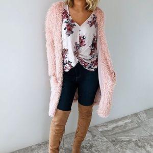 BNWT Light Blush/Pink Cardigan